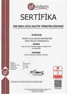 Sertifika ve Belgeler - 720